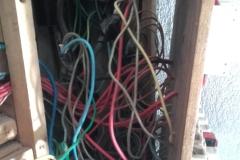 Sac de nœuds! source d'incendie.